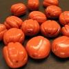 Beads - pumpkin