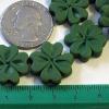 Beads - 4 leaf clovers